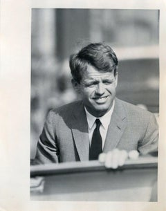 Portrait of Robert Kennedy - Press Photo by Robert Kennedy - 1968