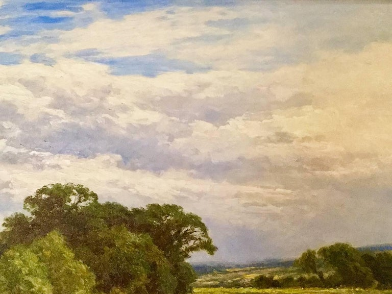 On the River Severn at Bridgnorth An English Landscape 18th / 19th Century  For Sale 3
