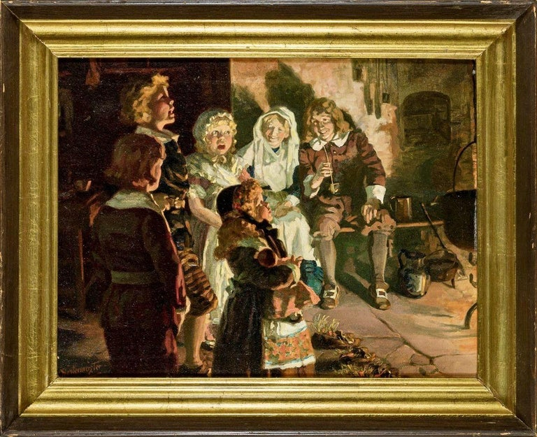 Sing Along - Painting by Henry Hintermeister