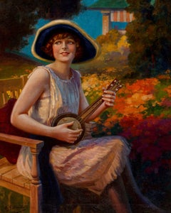 Woman With Instrument