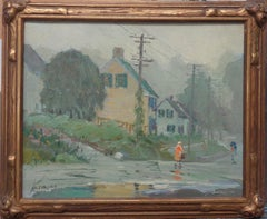 American Impressionist Salmagundi Club Artist Oil Painting Antonio Cirino