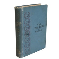 Henry James' The Real Thing and Other Tales, First Edition 1893