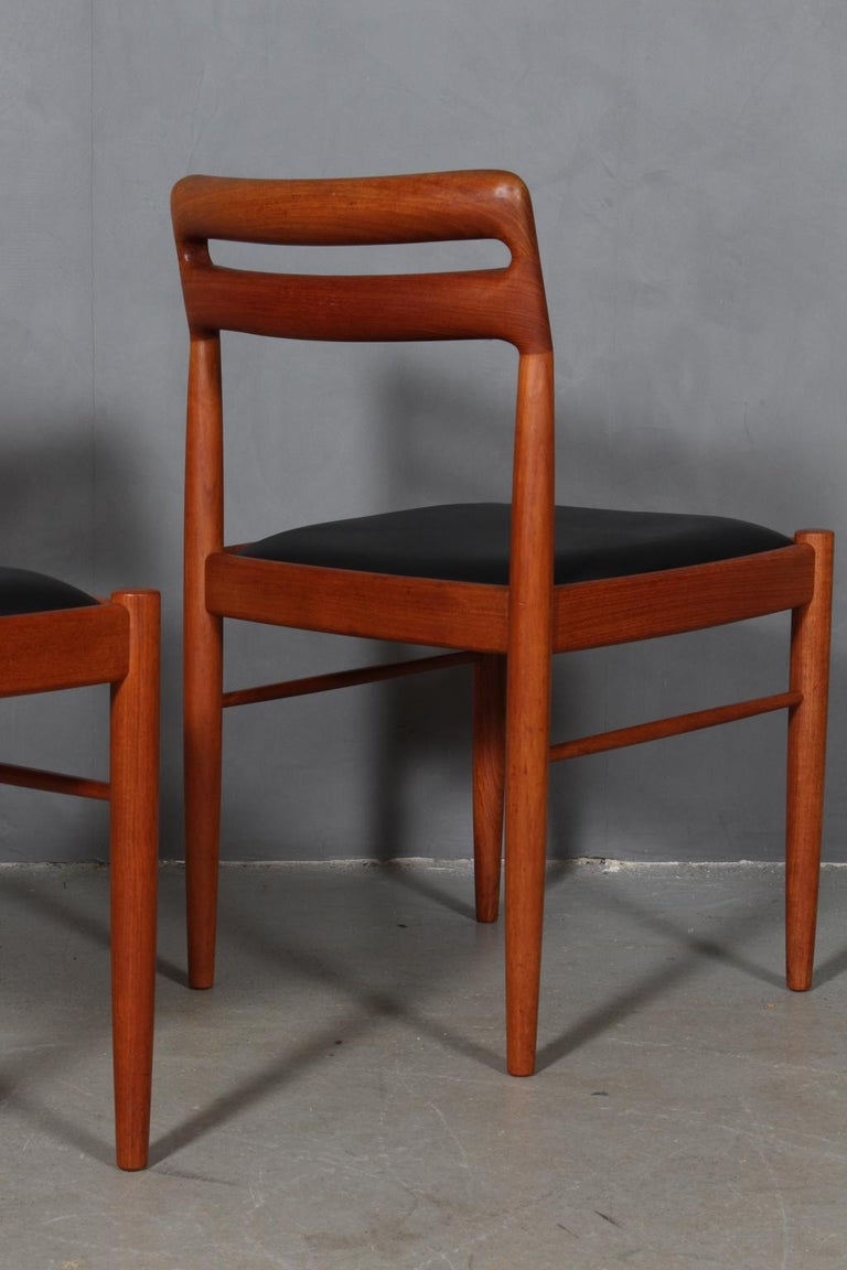 Mid-20th Century Henry Klein Four Dining Chairs
