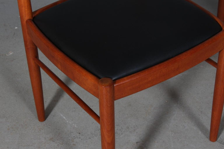 Leather Henry Klein Four Dining Chairs