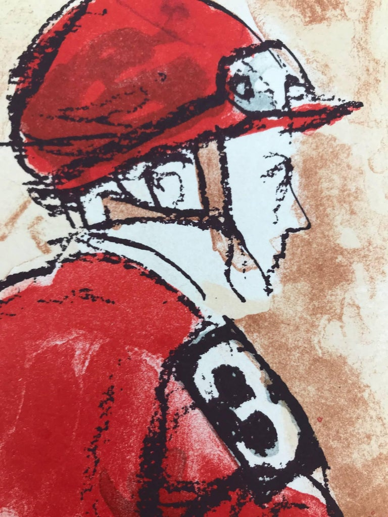 Untitled (Horse Race, Edition 15/125) - Print by Henry Koehler
