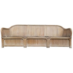 Henry Link Split Reed Bamboo Sofa