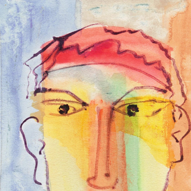 Expressionist Self Portrait by the Author of Tropic of Cancer and Black Spring For Sale 3