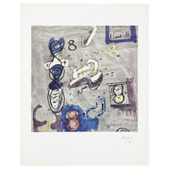 Henry Moore, Limited Edition Hand Signed Photolithography, 1971
