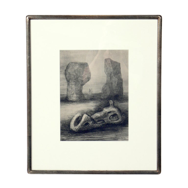 Henry Moore prints, from the limited edition folio entitled