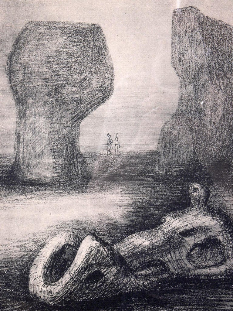 Mid-Century Modern Henry Moore Modernist Prints For Sale
