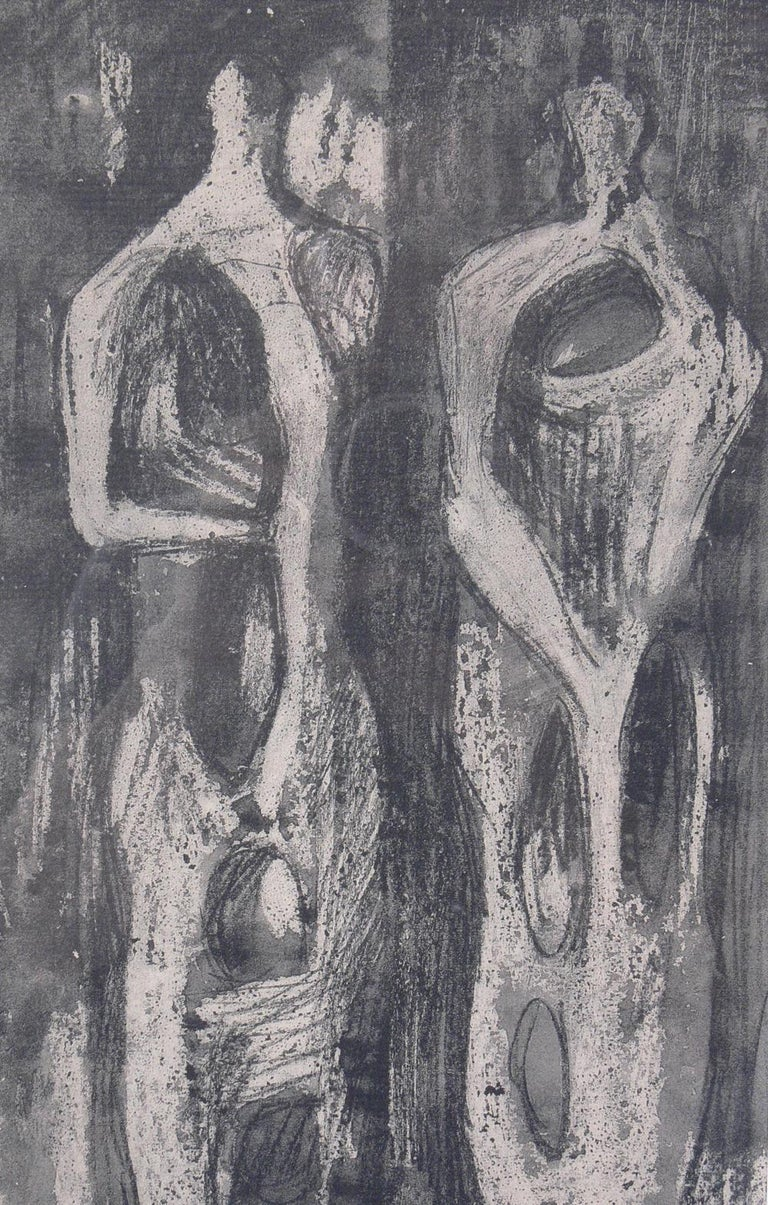 Glass Henry Moore Modernist Prints For Sale