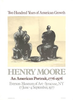 1975 After Henry Moore '200 Years of American Growth' Modernism