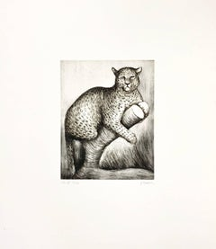 "Henry Moore, ""Leopard"""