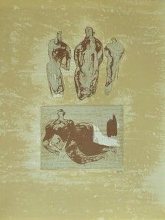 Ideas from a Sketchbook, from: Poetry  La Poésie