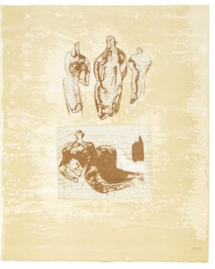 Ideas from a Sketchbook - Henry Moore, Lithograph, Prints, Contemporary Art