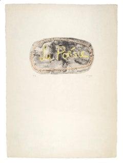 La Poésie - Henry Moore, Print, Lithograph