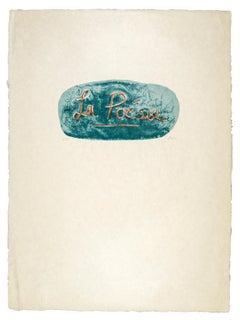 La Poésie (Poetry) - Henry Moore, Print, Lithograph, Contemporary Art