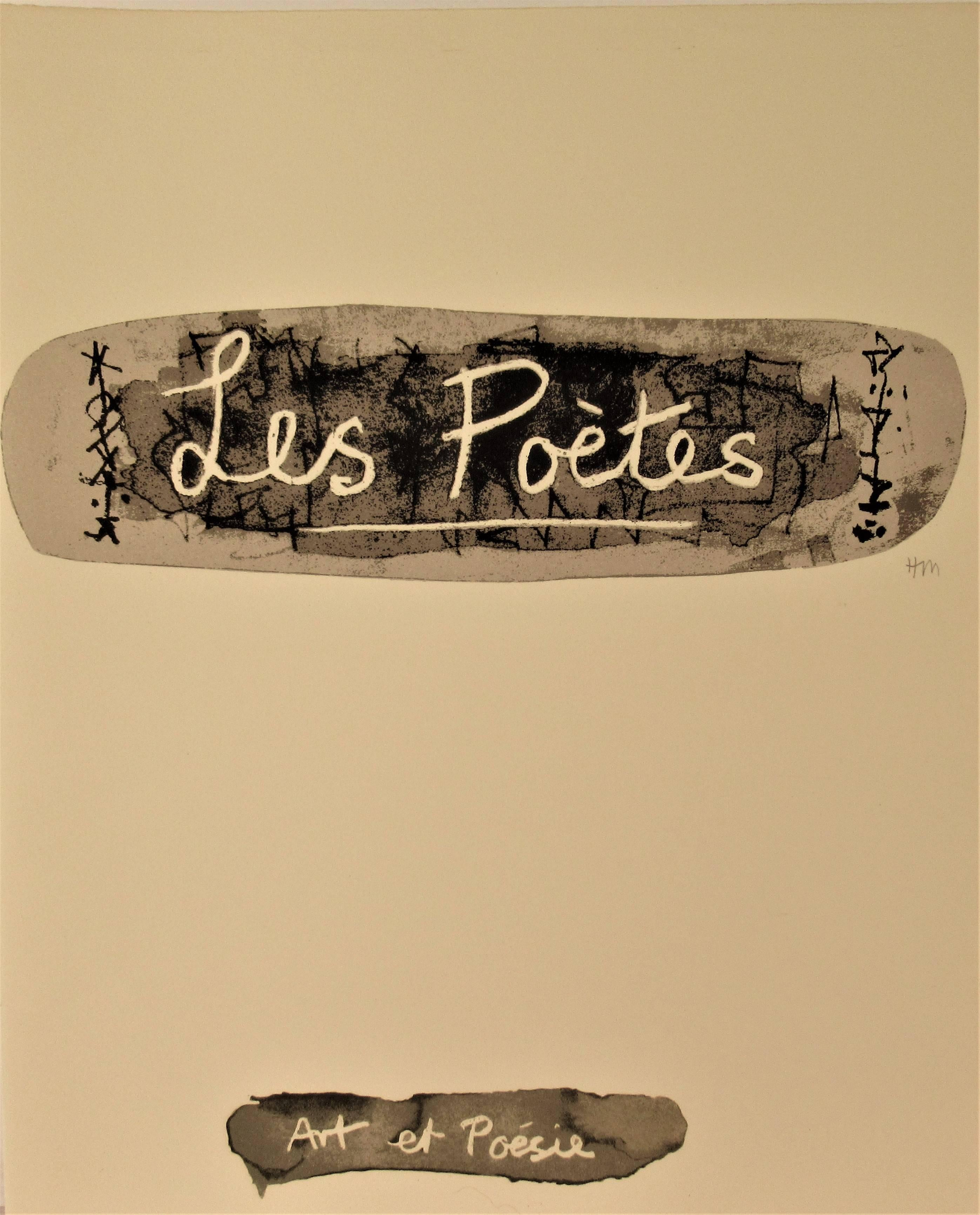 Les Poetes, La Poesie, Front Page