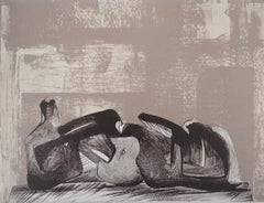 Reclining Figure - Original lithograph