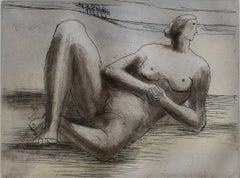 Reclining Figure VIII - British Art, Sculpture Study