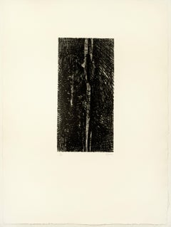 Split Stone: abstract drawing based on Auden poetry and Yorkshire landscape