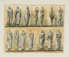 Standing Figures by Henry Moore 1949