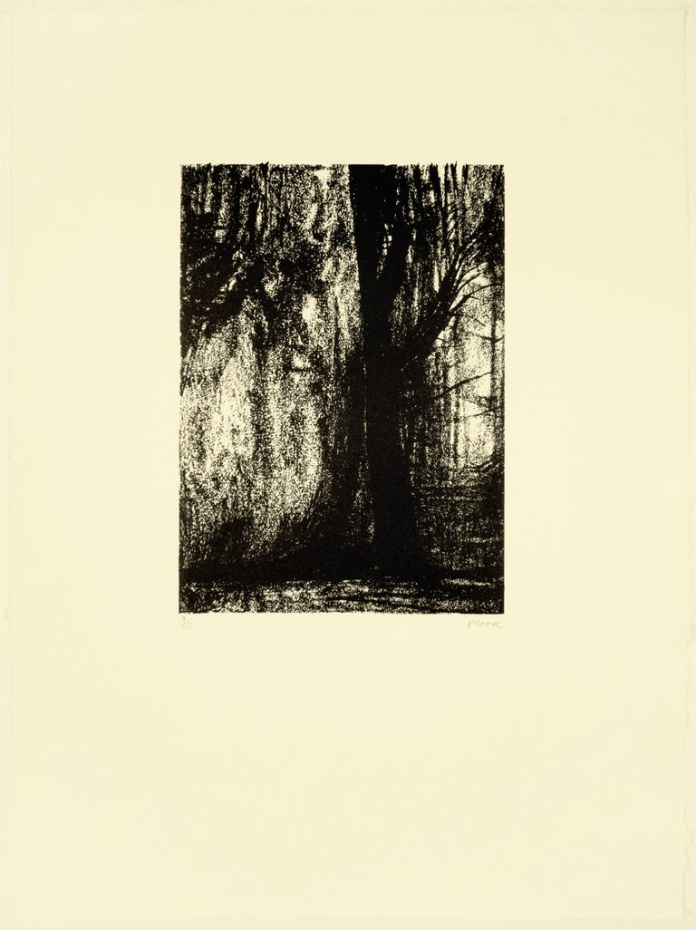 Henry Moore Landscape Print - The Forest