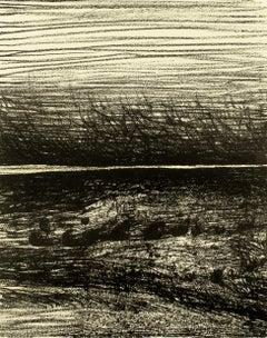 Windswept Landscape Henry Moore drawing of Scottish landscape for W.H. Auden