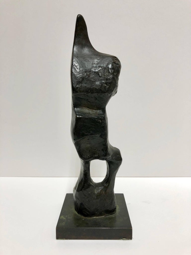 Henry Moore Figurative Sculpture - Standing Figure: Pointed Head
