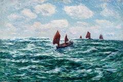 Bateaux de pêche, Audierne (Fishing Boat, Audierne)