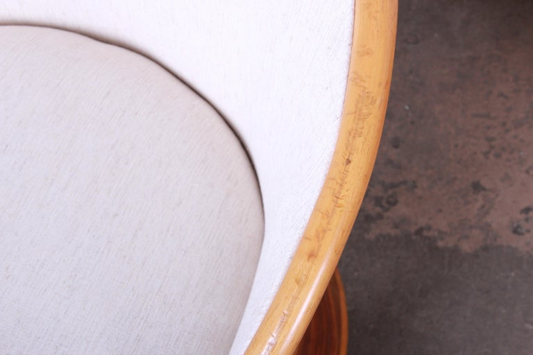 Midcentury Bamboo Dining Set In The Manner Of Henry Olko, circa 1978 For Sale 13
