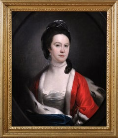 18th Century portrait oil painting of a Lady