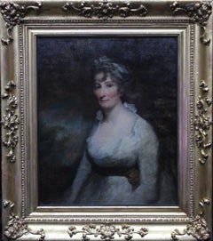 Lady Eleanor Dundas - Old Master 18C Scottish art oil painting female portrait