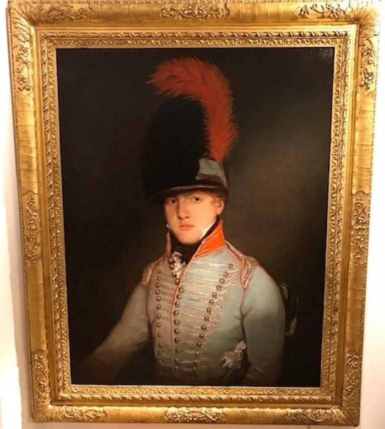 Portrait of Peter Jones - Brown Portrait Painting by Henry Raeburn (circle)