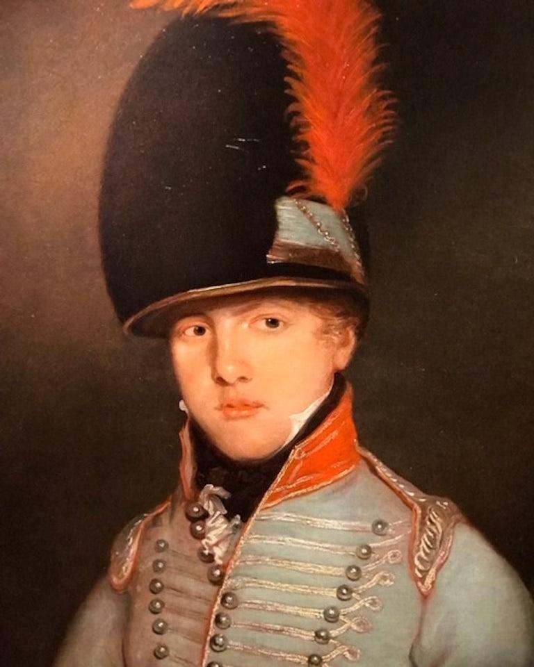 Attributed to Henry Raeburn (1738 - 1806) Portrait of Peter Jones Oil on Canvas Framed size; 115 x 95cm