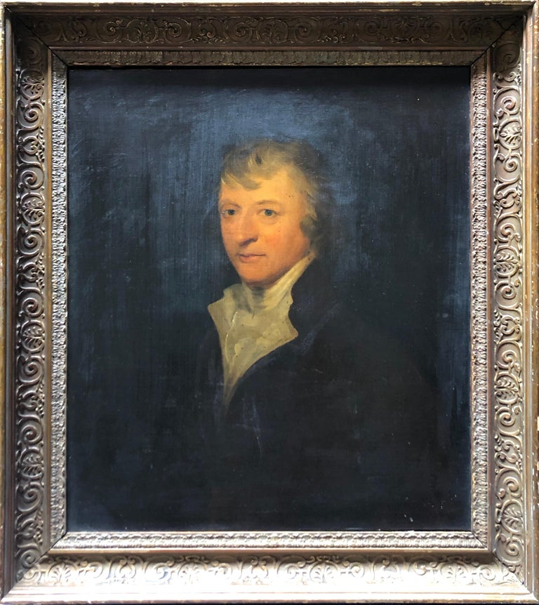Henry Raeburn (circle) Portrait Painting - Portrait, Oil painting of a Gentleman follower of Sir Henry Raeburn