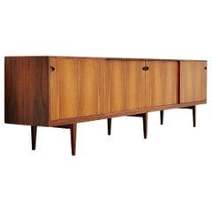 Henry Rosengren Hansen Rosewood Sideboard, Denmark, 1960