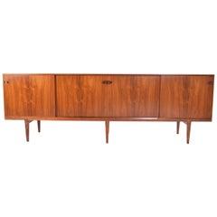 Henry Rosengren Hansen Rosewood Sideboard for Brande Mobelindustri