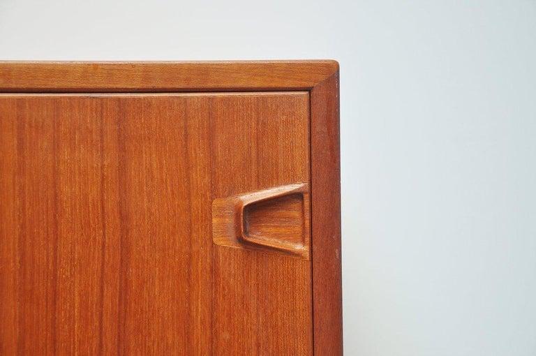Henry Rosengren Hansen Teak Sideboard, Denmark, 1960 For Sale 4