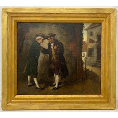 Henry Thomas Schafer Original Oil Painting