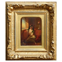 Henry Stanier British Born Artist, Beautiful Orientalist Painting, 1859