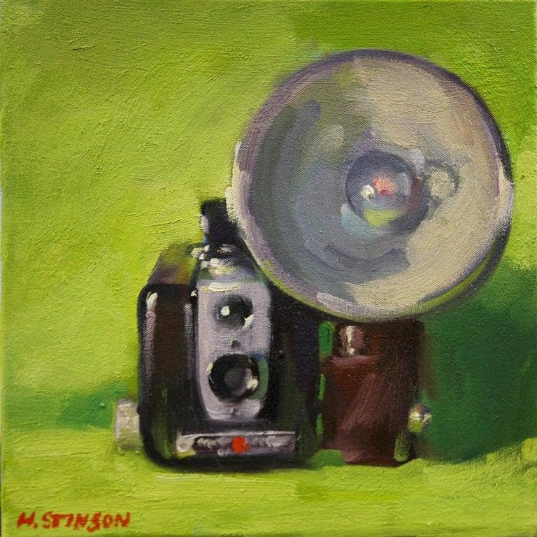 "Henry Stinson Still-Life Painting - ""Snapshot"""