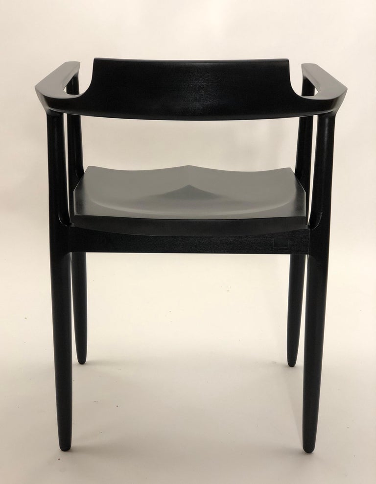 American Henry the Armchair in Black Lacquer