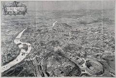 1`890 Birds Eye View of Rome