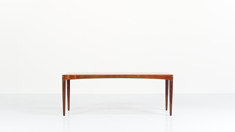 Scandinavian Modern Henry Walter Klein, Coffee Table for Bramin, 1968 For Sale