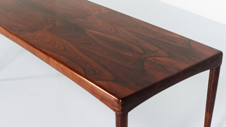 Wood Henry Walter Klein, Coffee Table for Bramin, 1968 For Sale