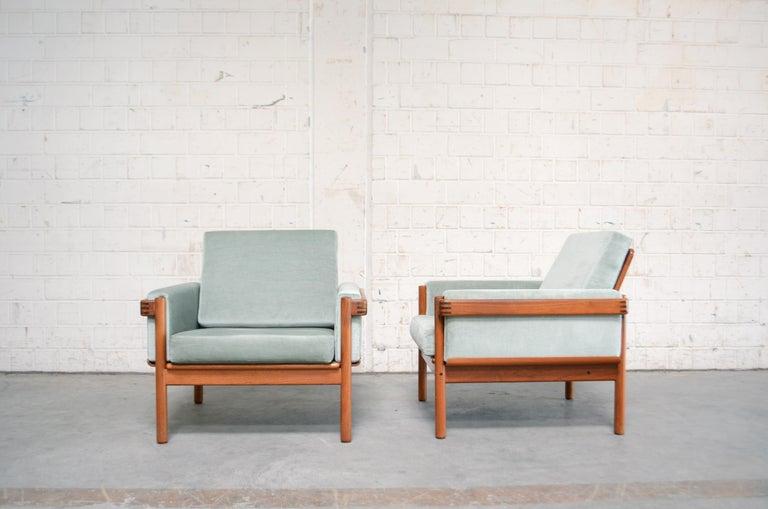 Henry Walter Klein Danish Modern Living Room Set Teak Sofa ...