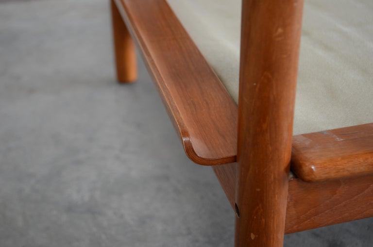 Henry Walter Klein Danish Modern Pair of Teak Easy Chair for Bramin For Sale 3