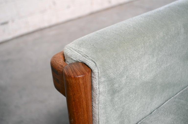 Henry Walter Klein Danish Modern Pair of Teak Easy Chair for Bramin For Sale 4