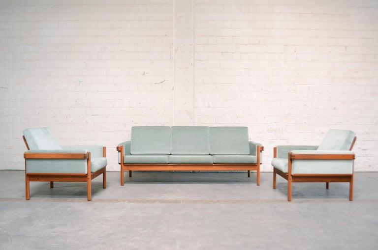 Henry Walter Klein Danish Modern Pair of Teak Easy Chair for Bramin For Sale 6